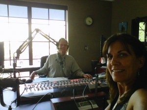 Cheyenne on the Randy Barton Show in Park City