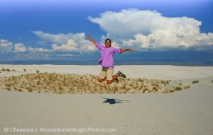 "Cheyenne ""Jumping for Joy"" to be in New Mexico"