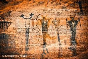 Ancient Canyon Pictographs