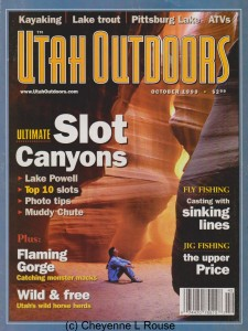 UT Outdoors Magazine Cover