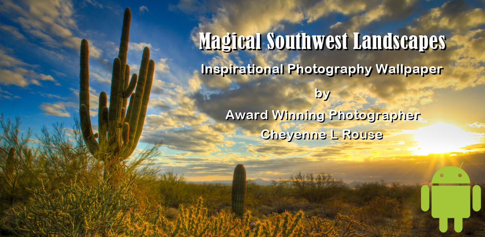 Magical Southwest Landscapes App