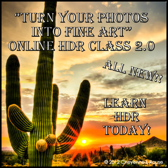 Turn your Photos into Fine Art HDR Class