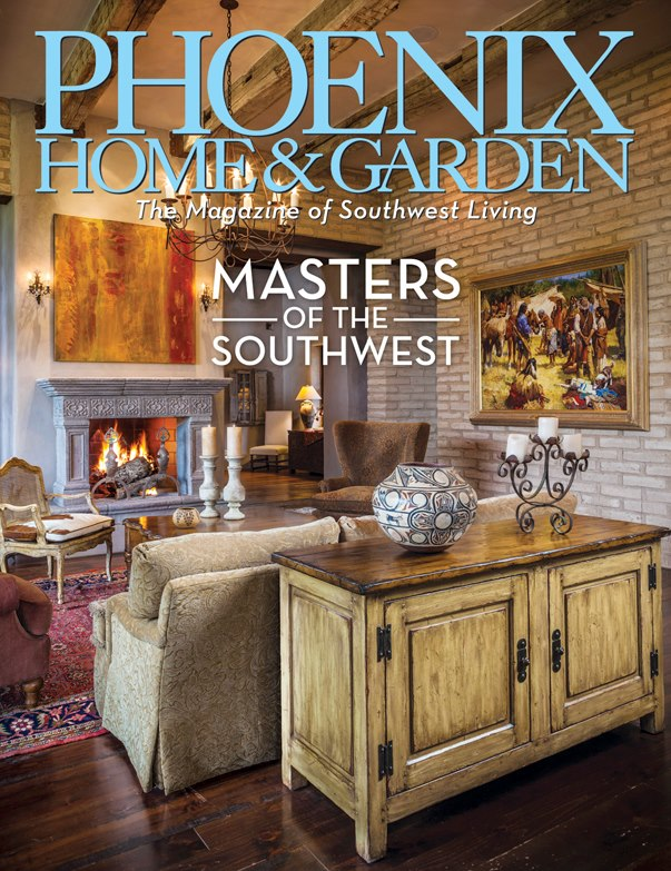 A Great Honor From Phoenix Home Garden Magazine Cheyenne L Rouse 39 S Southwestern Photography
