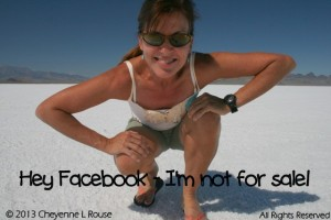 Hey Facebook - I'm not for sale!